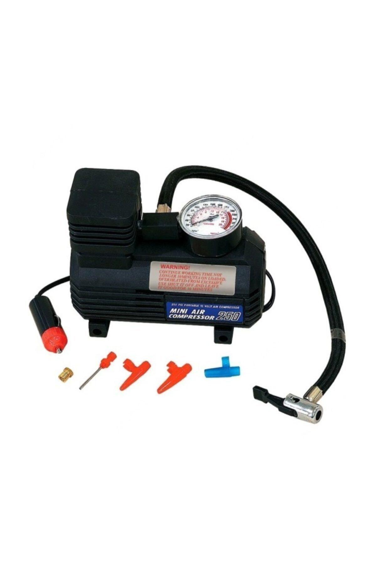 Şeftali Air Compressor Hava Kompresörü Oto Araç Lastik Şişirme Kiti 1
