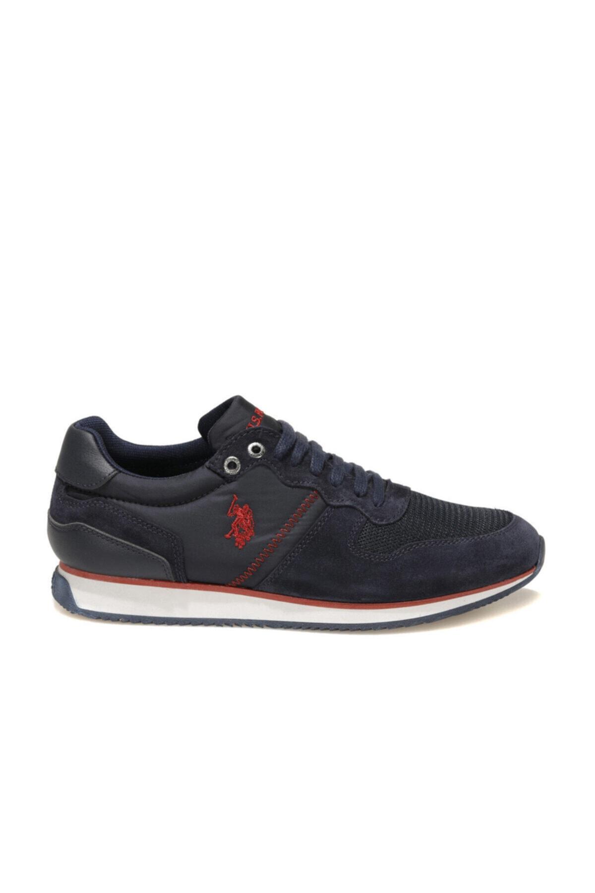 U.S. Polo Assn. MAC 1FX Lacivert Erkek Spor Ayakkabı 100910523 2