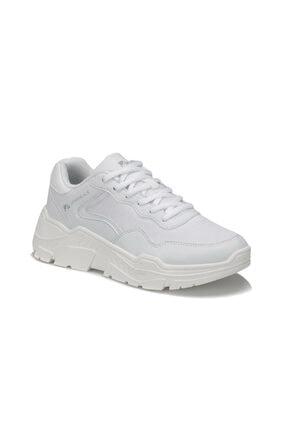 lumberjack Henora 9pr Beyaz Kadın Kalın Taban Sneaker Spor Ayakkabı