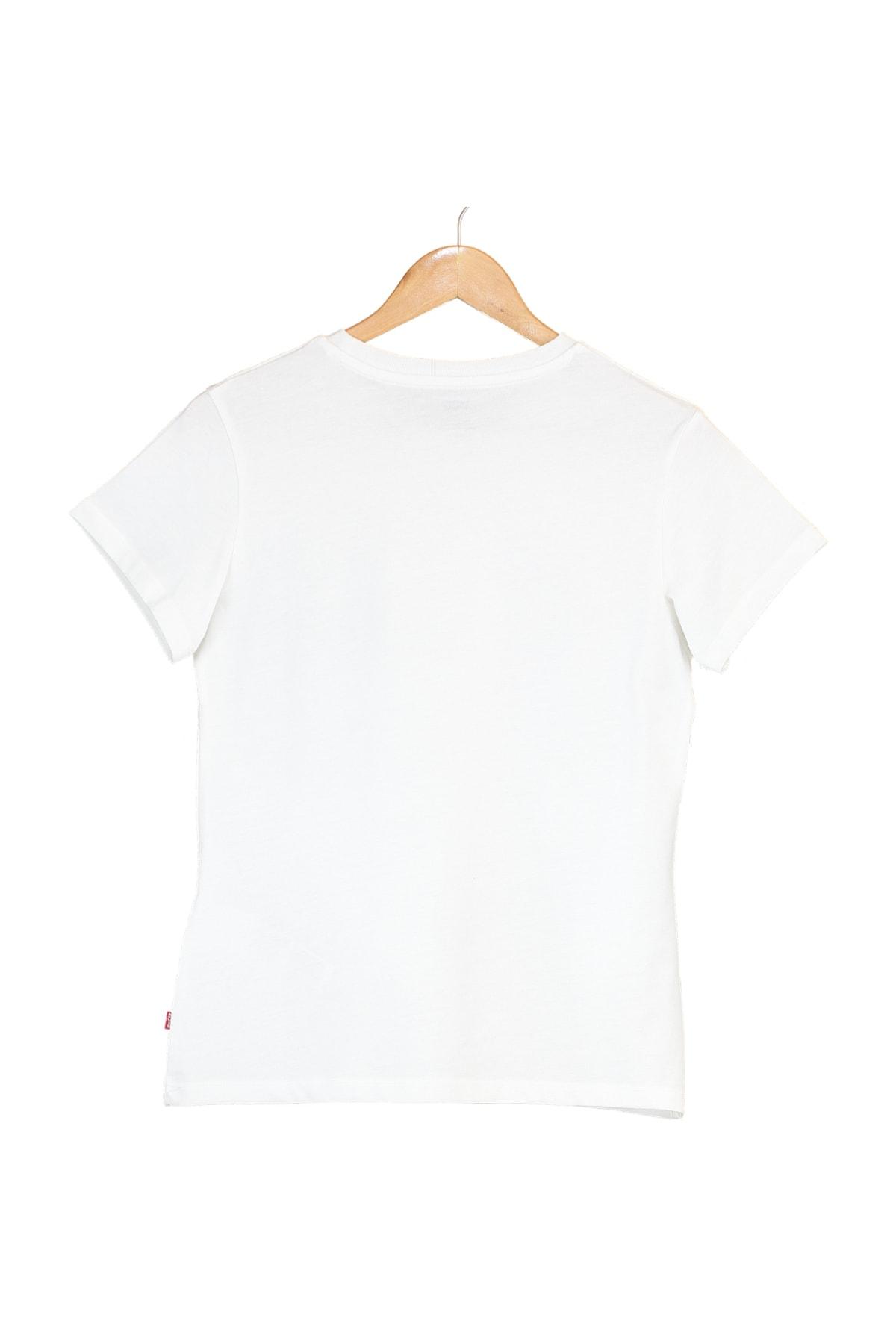 Levi's Kadın The Perfect Tee Lse_Batwıng Fıll Artıst T-Shirt 17369-1510 2
