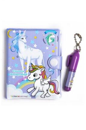 VUKİ Unicorn Mini Kalemli Defter Seti