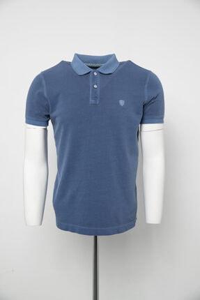 Lufian Vernon Spor Polo T- Shirt Indigo