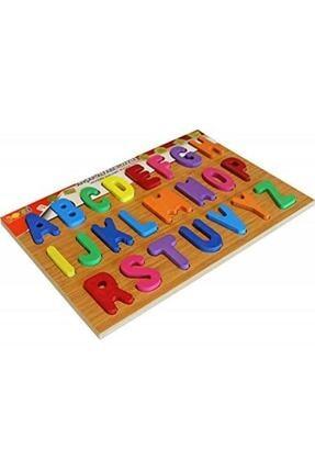 BEMİ Baskılı Alfabe Puzzle Ahşap
