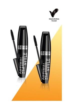 Farmasi Optimal Style Maskara-8ml 2 Adet