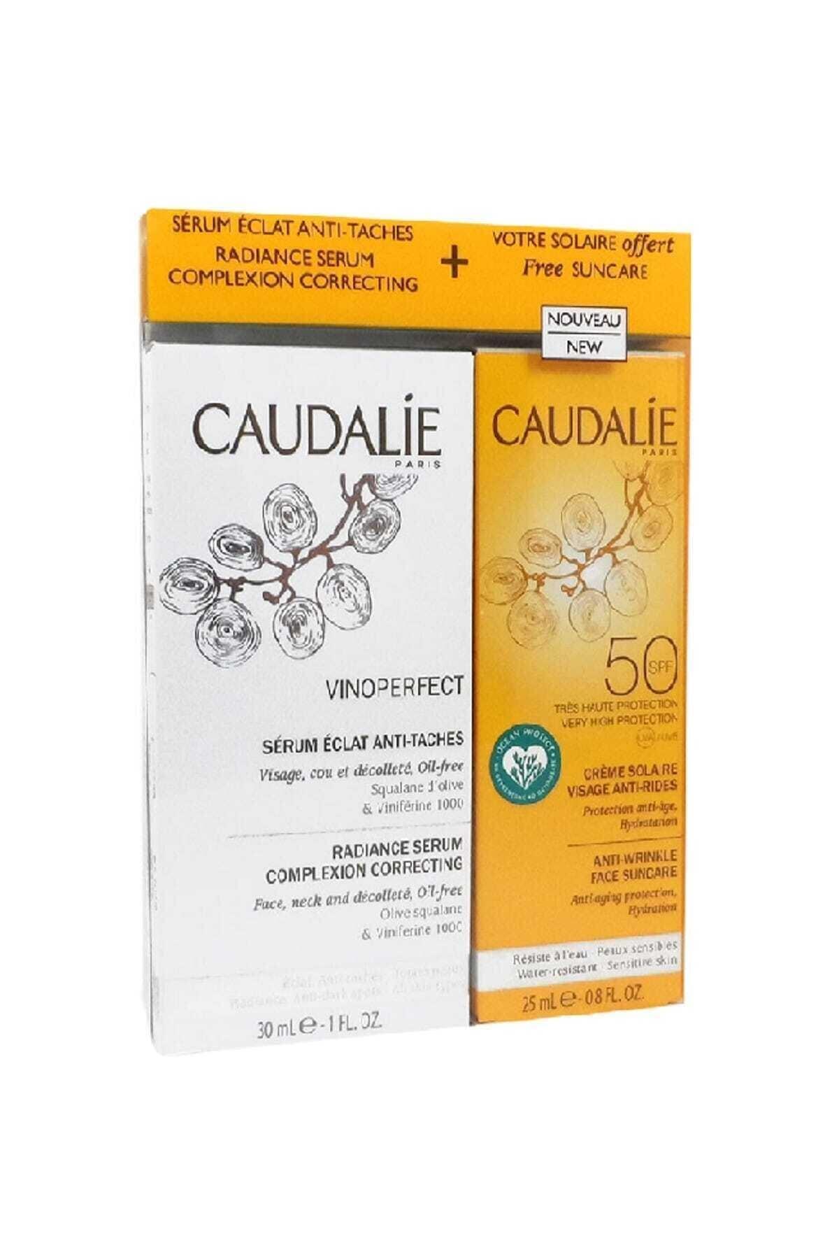 Caudalie Vinoperfect Radiance Serum 30 ml + Kırışıklık Karşıtı Güneş Kremi 25 ml 1