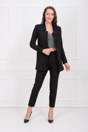 Sense Kadın Siyah Takım Elbise Takım 2'li 32688
