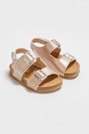LC Waikiki Kız Bebek Bronz J5U Sandalet