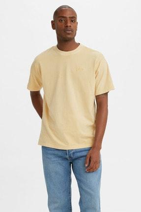 Levi's Erkek Vintage Tee Golden Haze Garment Sarı/Turuncu Erkek Tişört 3985600030
