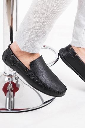 zincirport Erkek Siyah Rog Loafer Ayakkabı