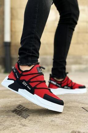 BIG KING Erkek Kırmızı Triko Spor Ayakkabı