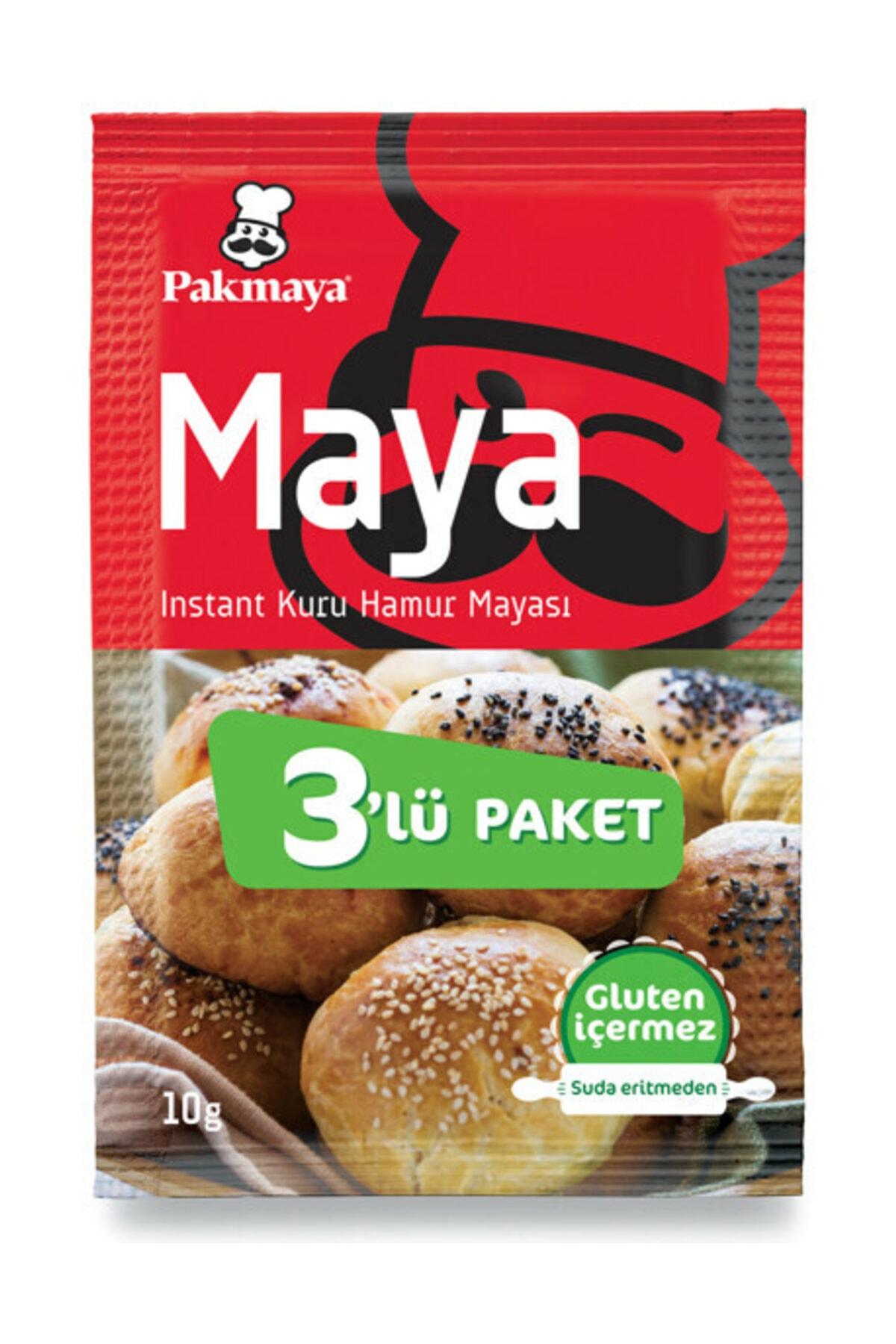 Pakmaya Kuru İnstant Maya 10 gr 2
