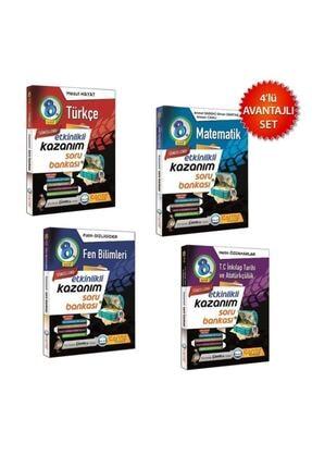 Çanta Yayınları Lgs 8. Sınıf Türkçe İnkilap Matematik Fen Kazanım Soru Bankası