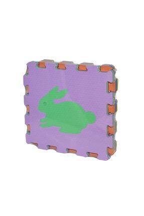 Akar Oyuncak Hayvanlar Eva Oyun Alanı Karosu Yer Matı 33x33 7 mm