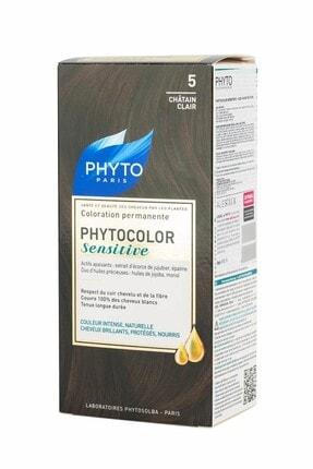 Phyto Color Sensitive Saç Boyası 5 Açık Kahve Kestane