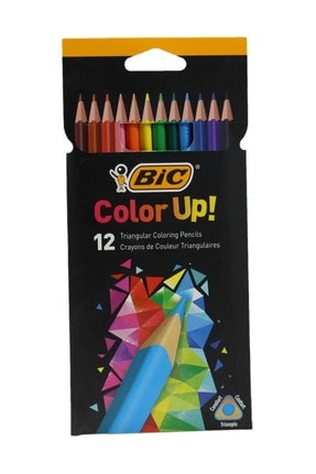 Bic Color Up Kuru Boya Kalemi 12'li Kutu
