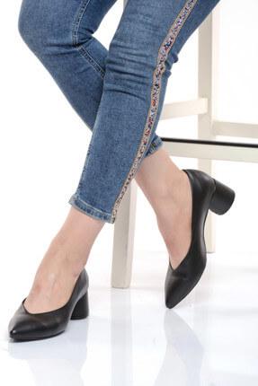 Shoes Time Siyah Kadın Topuklu Ayakkabı 17K 1954