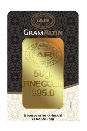 Harem Altın 50 gr IAR Gram Külçe Altın  HRM3392