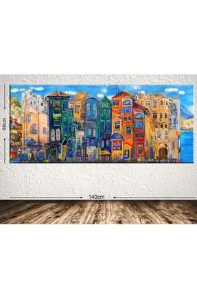 Tablo Center Dev Boyut Dekoratif Kanvas Tablo 60x140cm