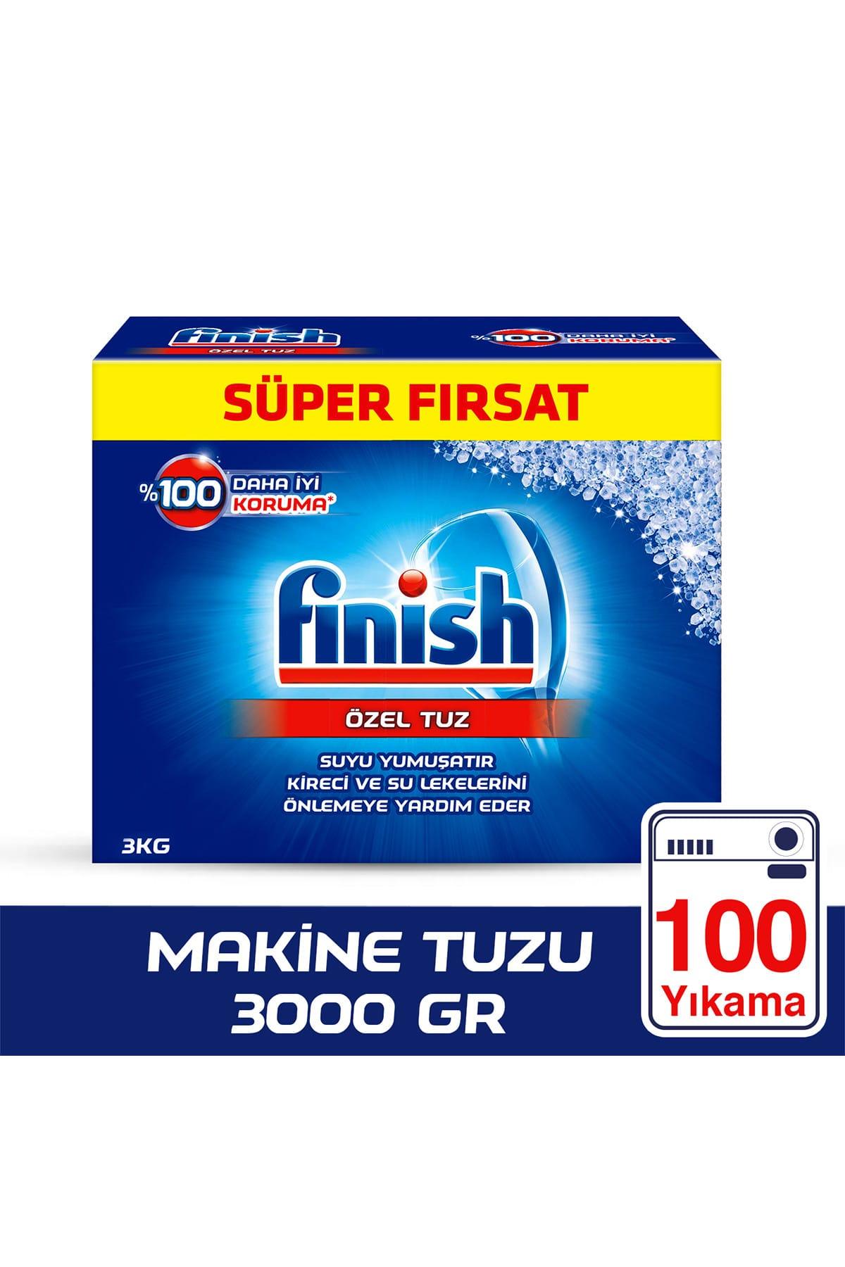 Finish Bulaşık Makinesi Tuzu 3000 gr 1