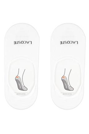 Lacoste Unisex Beyaz 2'li Çorap RA0716