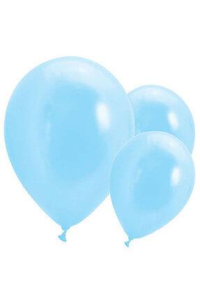 Kullan At Market Metalik Açık Mavi Balon