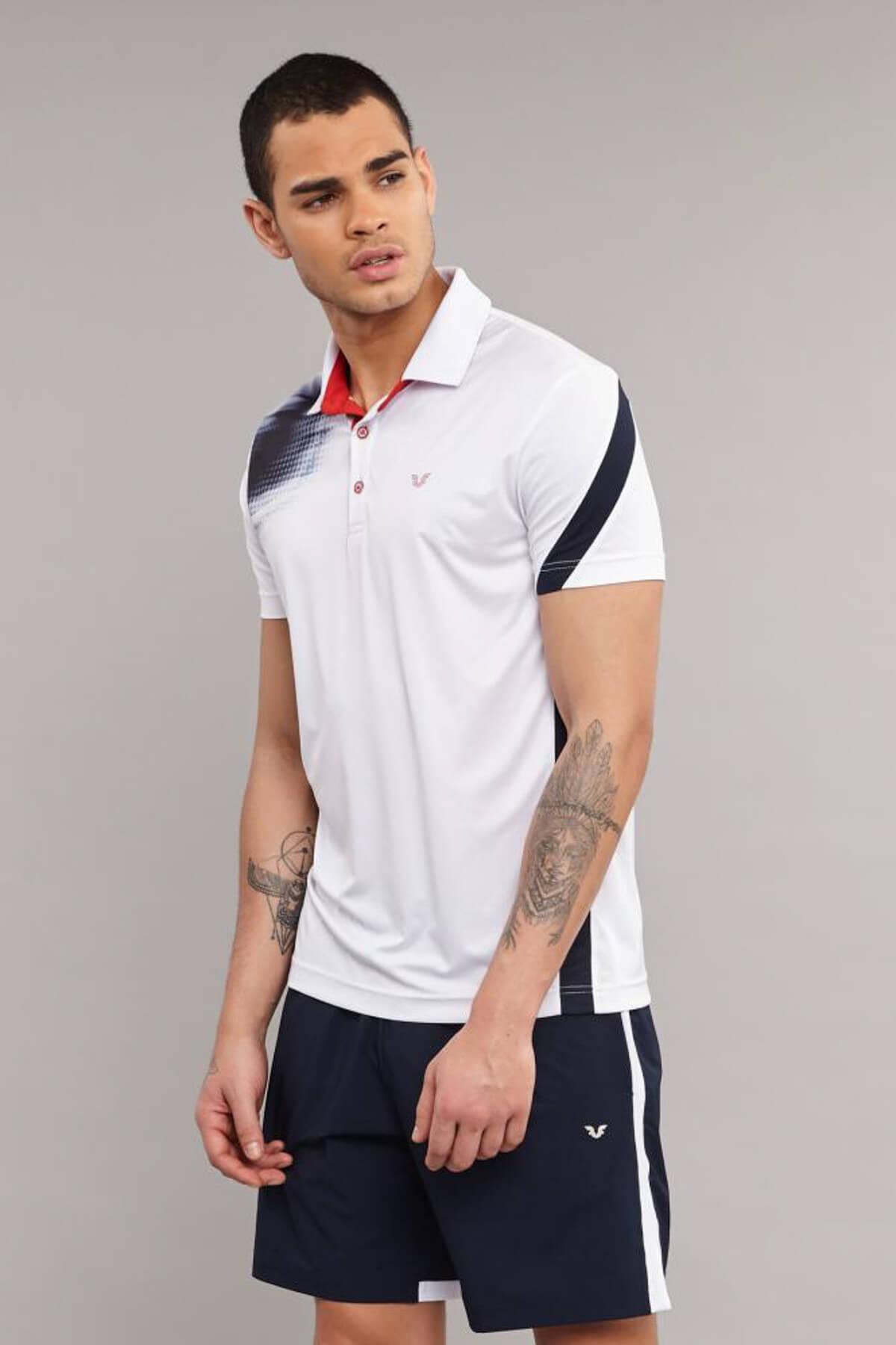 bilcee Erkek Antrenman T-Shirt ES-3829 2