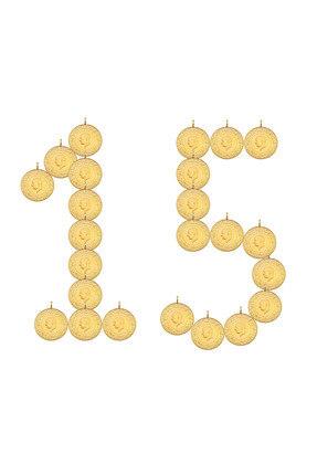 Harem Altın 15 Eski Tarih Çeyrek Altın HRM3016