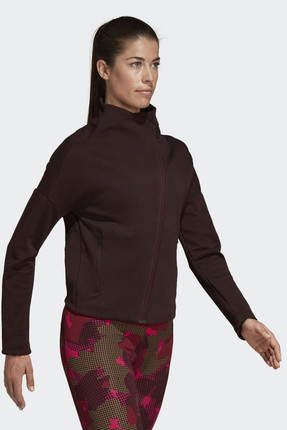 adidas Kadın Sweatshirt - W Htr Jkt Ai - CZ8999