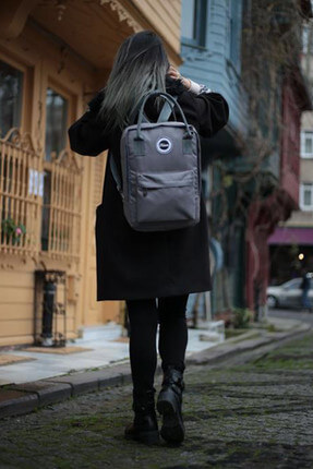 Fudela Kjm Grey Backpack