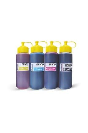 EPSON Photoink Epson Yazıcılara uyumlu 4x500 ml Mürekkep Seti
