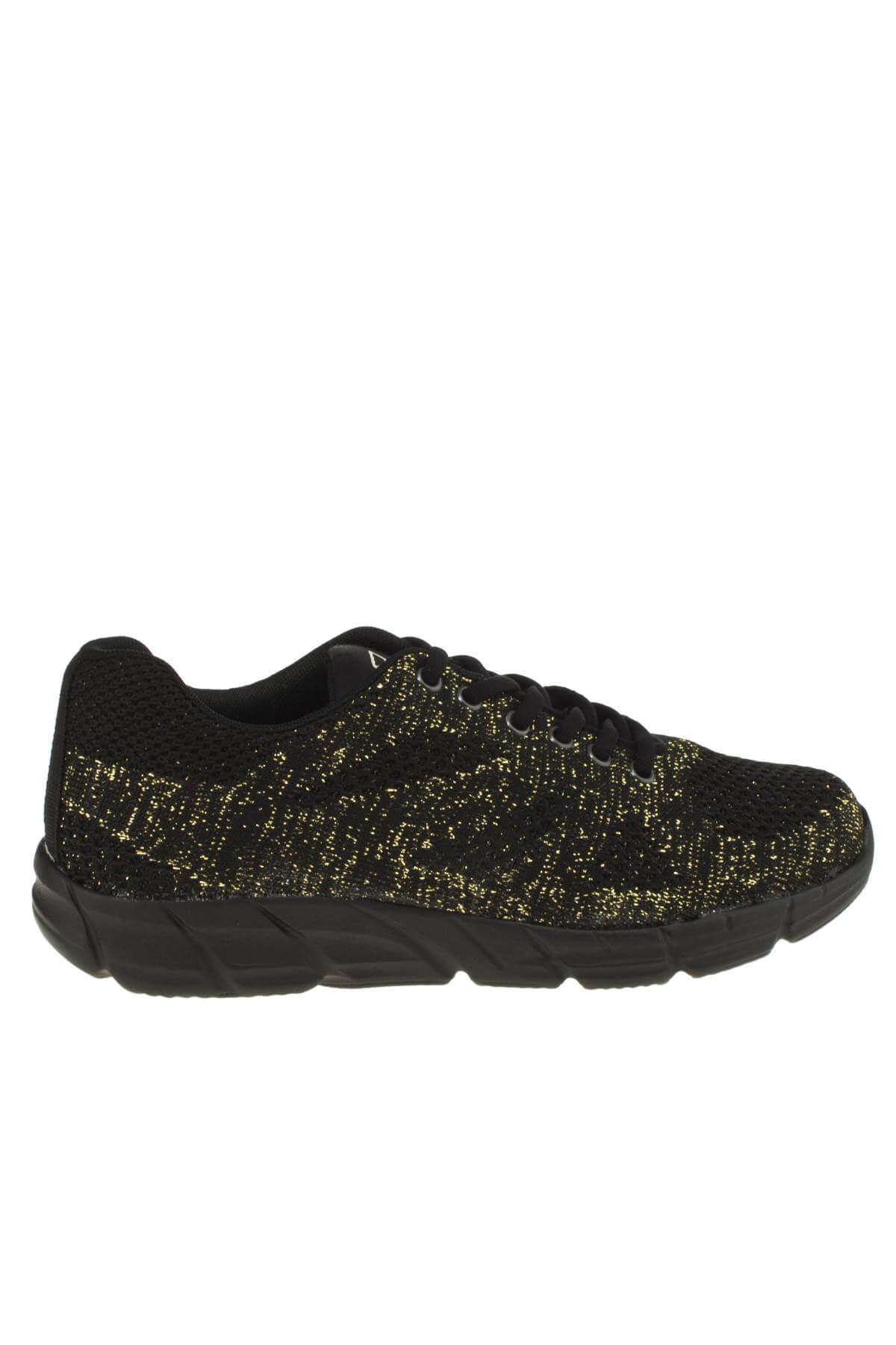 Scooter Unisex Siyah Sarı  Sneaker 186 5437G 2