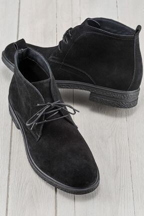 Elle Shoes LEMOS Hakiki Deri Siyah Erkek Bot