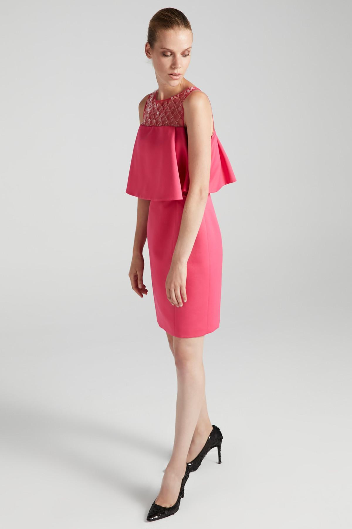 İpekyol Kadın Pembe Elbise IW6170002191 2