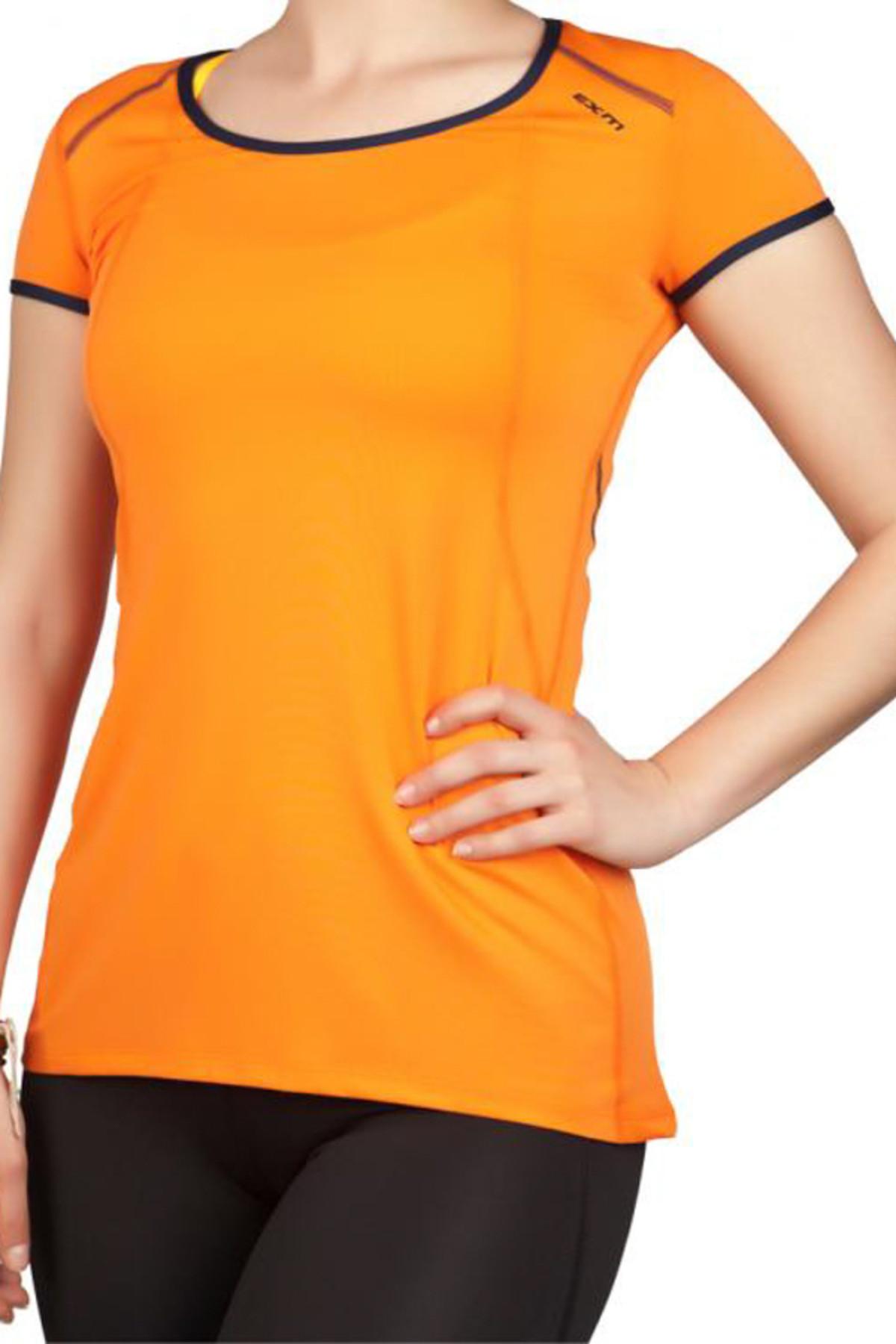 Exuma Kadın Turuncu Spor T-shirt - 142252 1
