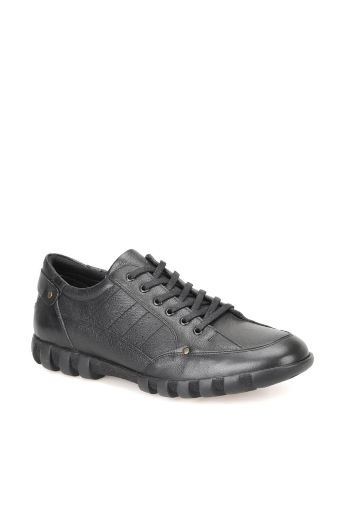 OXIDE 703 Siyah Erkek Deri Ayakkabı 100319903 1