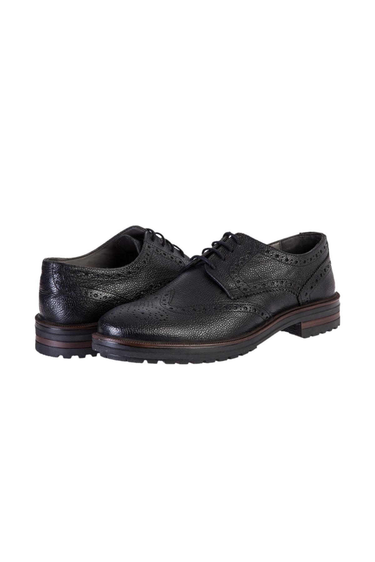 Kiğılı Bağcıklı Klasik Ayakkabı 2