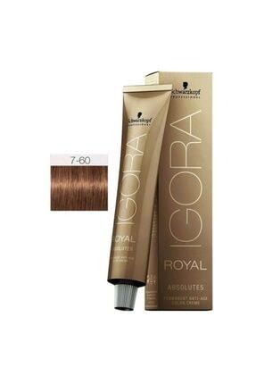 Igora Royal Absolutes 7-60 Kumral-çikolata Doğal