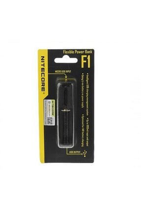 Nitecore Flexible Powerbank F1 Pil Şarj Aleti