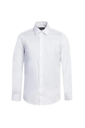Kiğılı Uzun Kol Non Iron Slim Fit Gömlek