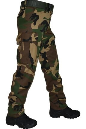 MysiaStyle Askeri Kamuflaj Pantolon Avcı Pantolon M002 Somali