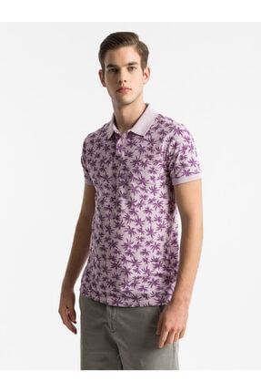 Ltb Erkek  Mor Polo Yaka T-Shirt 012198430760890000