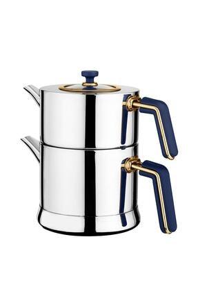 Neva Sweet Premium Yakamoz Bemol Çelik Çaydanlık N2928