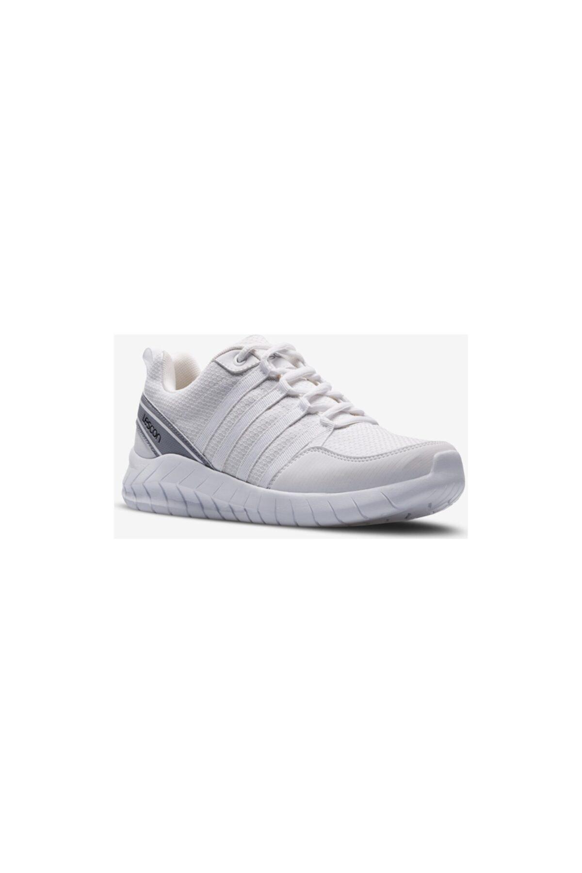 Lescon Flex Legend Beyaz Unisex Spor Ayakkabı 1