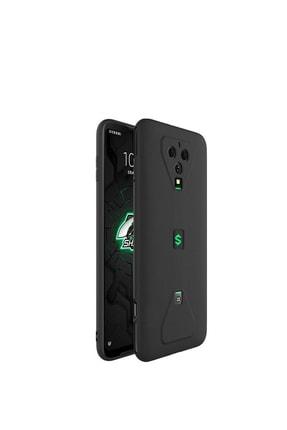 Microcase Xiaomi Black Shark 3s Elektrocase Serisi Kamera Korumalı Silikon Kılıf - Siyah