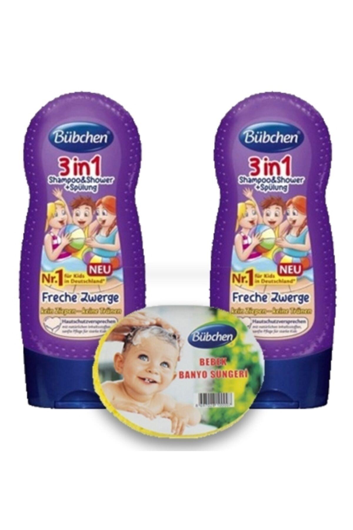 Bübchen 3ü 1 Arada Çocuk Şampuanı Ve Duş Jeli 230 Ml 2 Li X 2 Ad 1