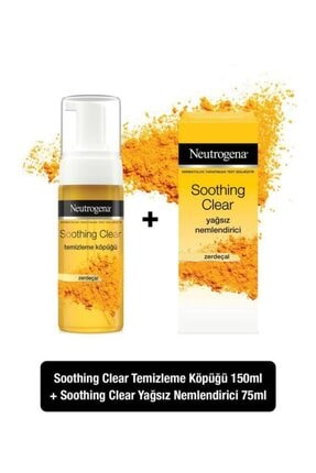 Neutrogena Soothing Clear Köpük 150 Ml+nemlendirici 75 Ml