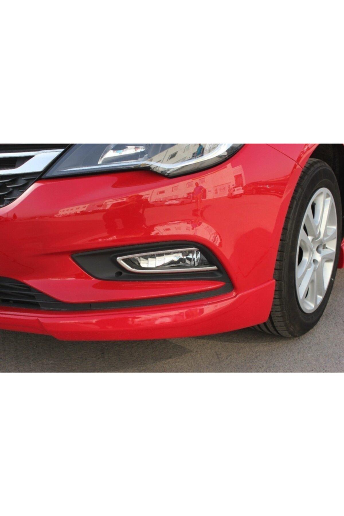 Omsa Opel Astra K Krom Sis Farı Çerçevesi P.çelik 2 Parça 2015 Üzeri 2