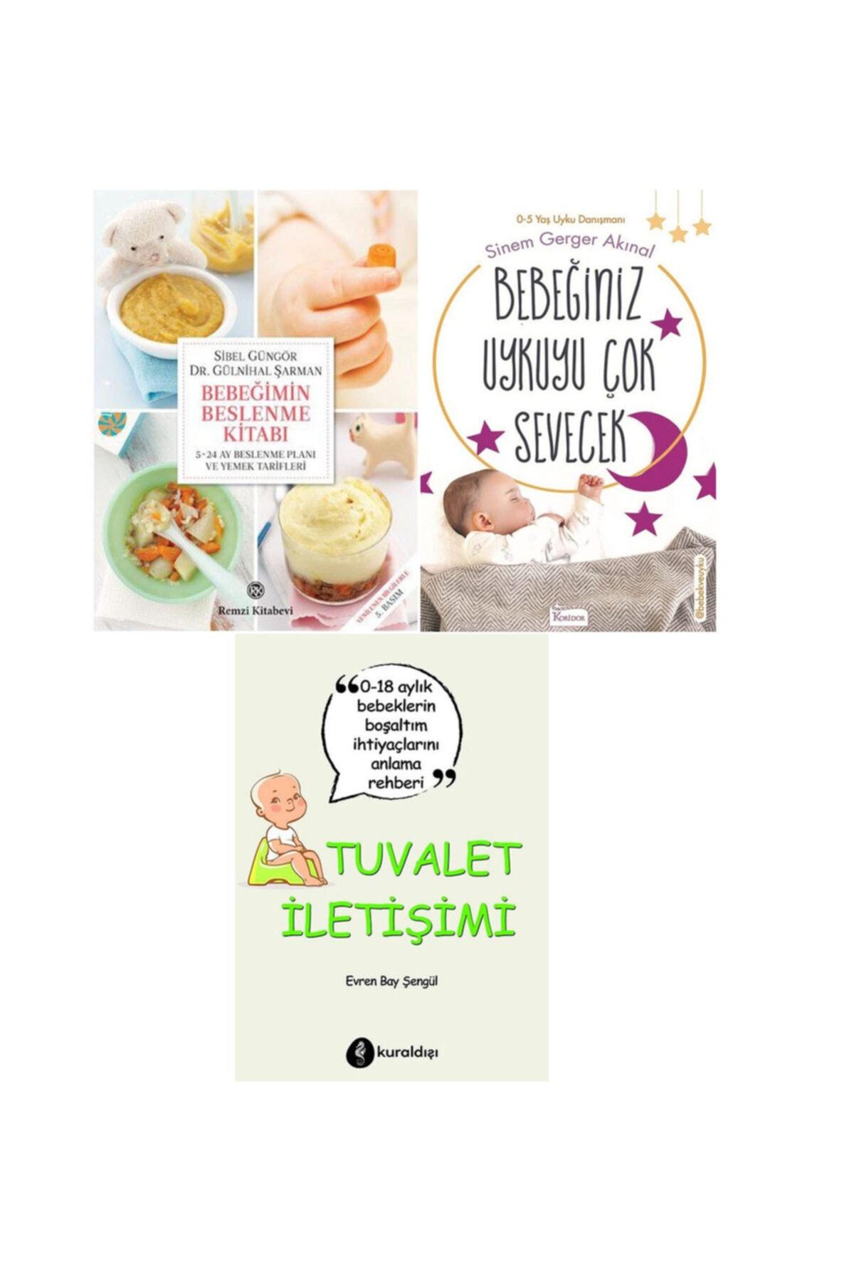 peta kitap Bebek Eğitim Seti ( Bebeğimin Beslenme Kitabı - Bebeğiniz Uykuyu Çok Sevecek - Tuvalet Iletişimi ) 2