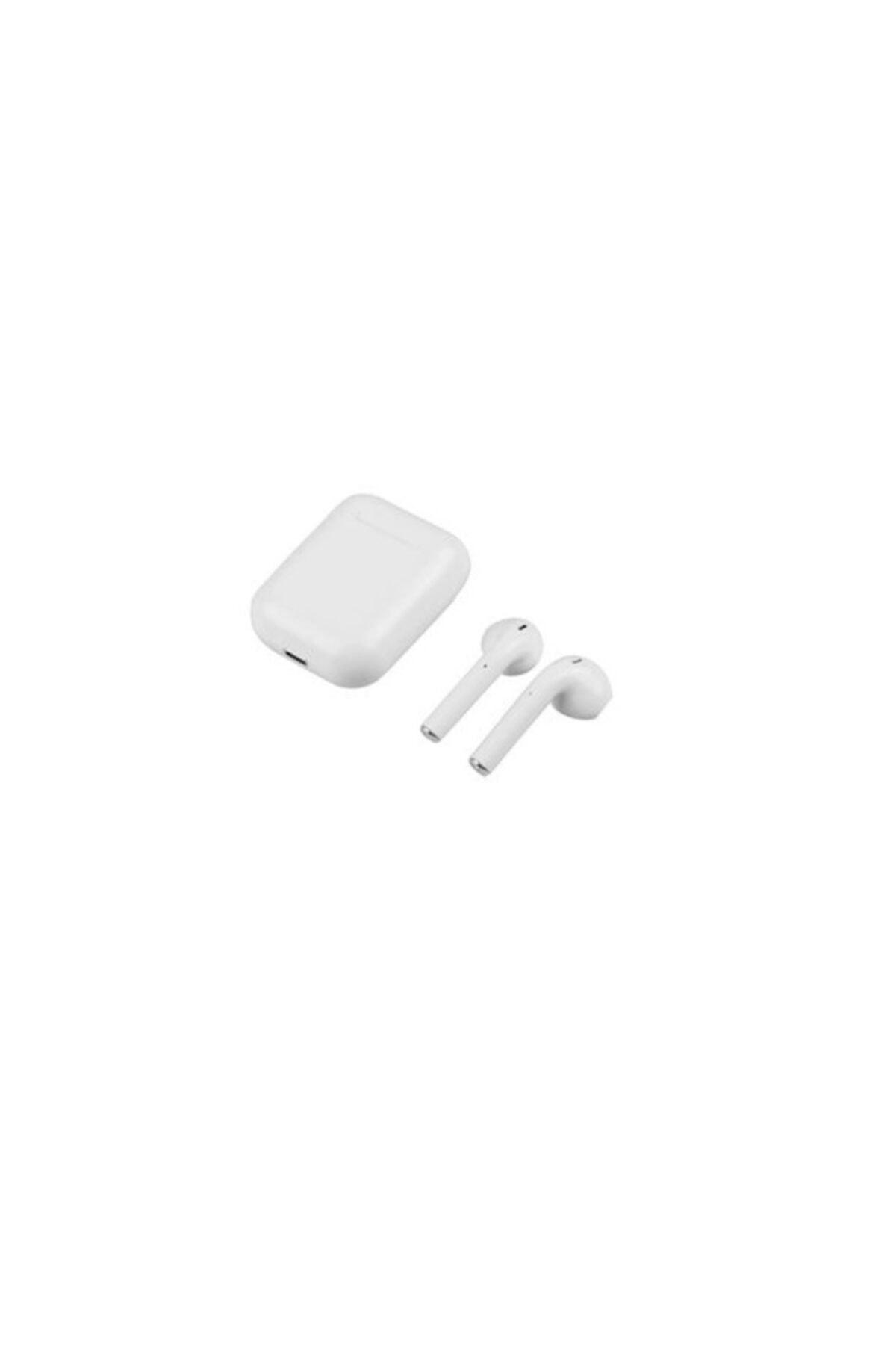 TrkTech Airpods I12 Beyaz Bluetooth Kulaklık Tüm Telefonlar Ile Uyumlu 1. Kalite 2