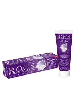 R.O.C.S. Aktif Magnezyum - Diş Minesi Besleyici Günlük Diş Macunu 94g